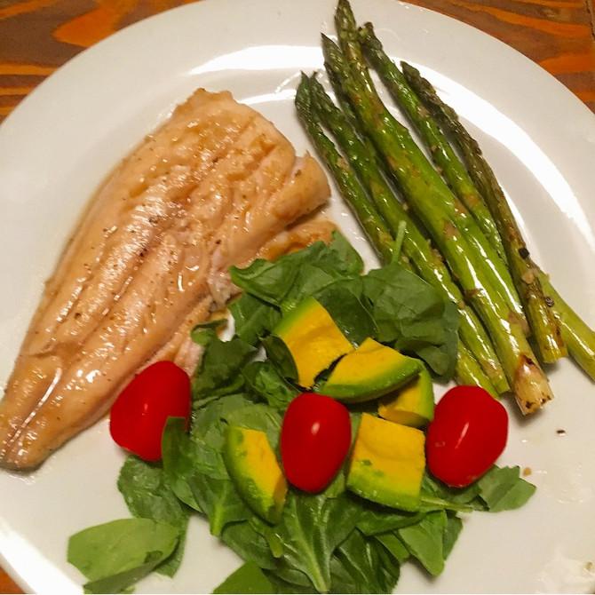 Wellness Wednesday- Freshly Caught Dinner