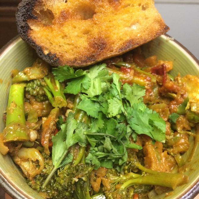 Wellness Wednesday- Pumpkin Masala Curry and Coconut Cauliflower Rice