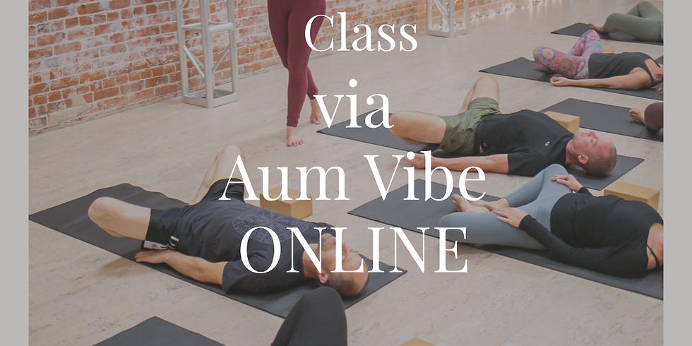 ONLINE :: Psoas Release Yoga Class via Aum Vibe