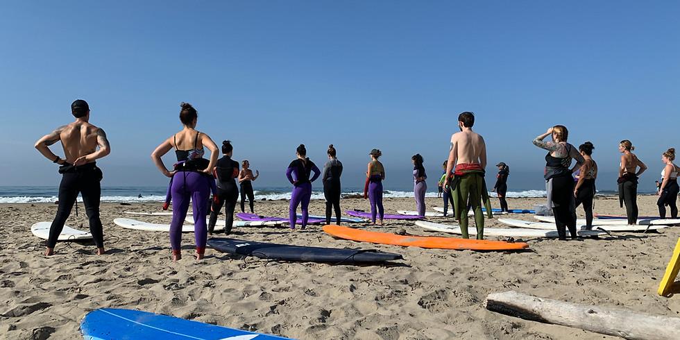 September :: Yoga + Surf 1/2 Day Retreat