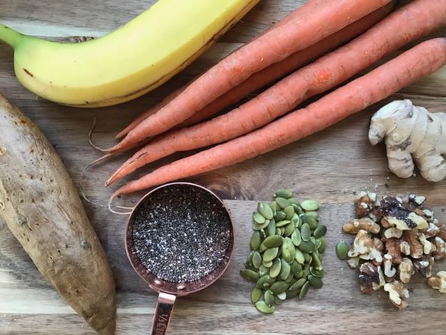 Carrot- Sweet Potato Super Smoothie