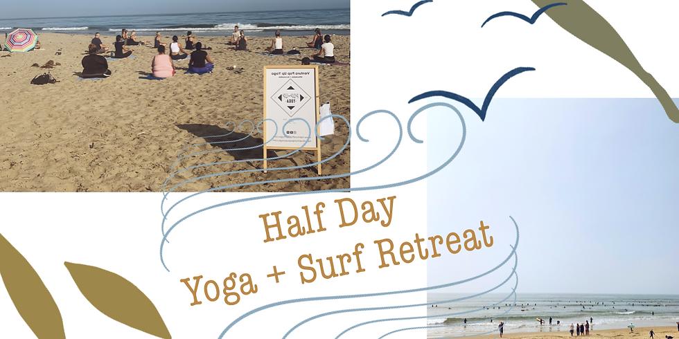 Yoga + Surf Half Day Retreat
