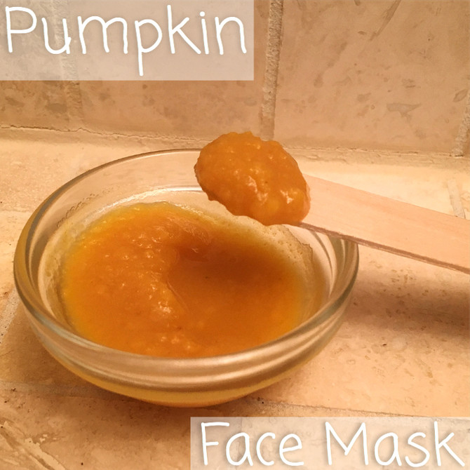 Wellness Wednesday- Vitamin Infused Pumpkin Face Mask