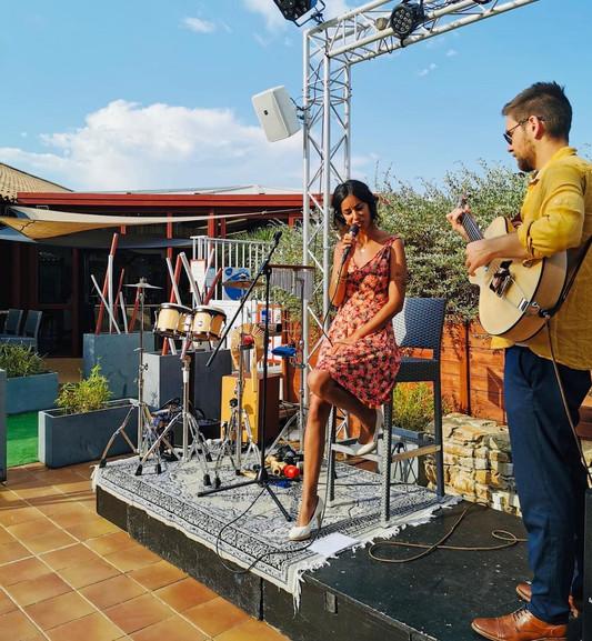 duo jazz Amande & miel