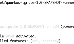 Cloud-native application made ease: developing an application with Quarkus and Apache Ignite