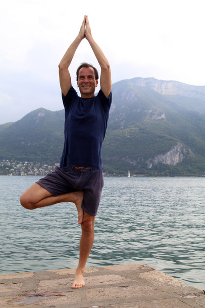 David hatha yoga Annecy