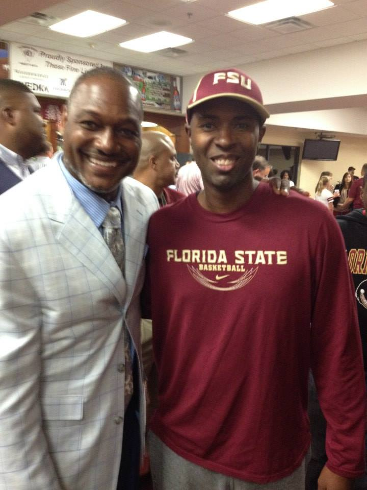 Derrick Brooks and Charlie Ward