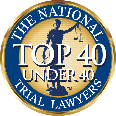We are honored to be named one of New Jerseys top 40 under 40 criminal defense attorneys
