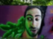 Selbstportrait auf dem Modular Festival_
