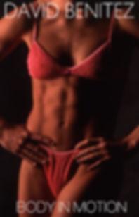 Athletics body in motion, woman physics body builder