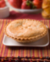 food photography hot apple pie