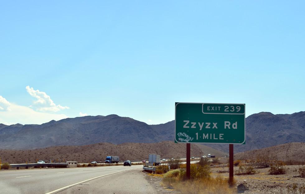 Zzyzx, California