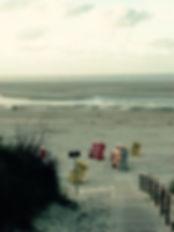Strandkörbe Strand Langeoog