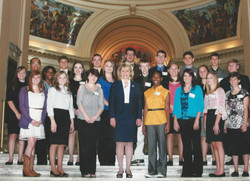 Group Photo with Gov Fallin