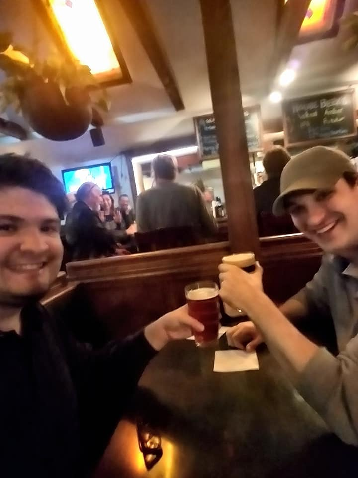 Beer with Best Friend Ryan Echols