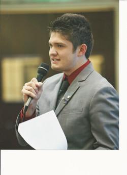 Speech to House