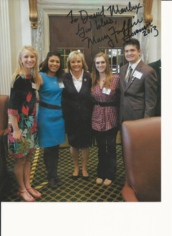 Meeting with Gov Fallin