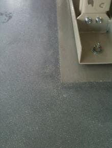 硬質塗り床撤去2 施工後の仕上がりの様子