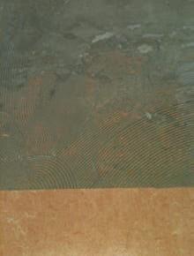 残ノリの研磨 施工前の床面の様子