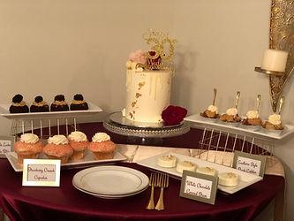 30th anniversary dessert table
