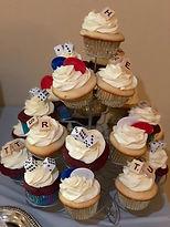 game night cupcakes