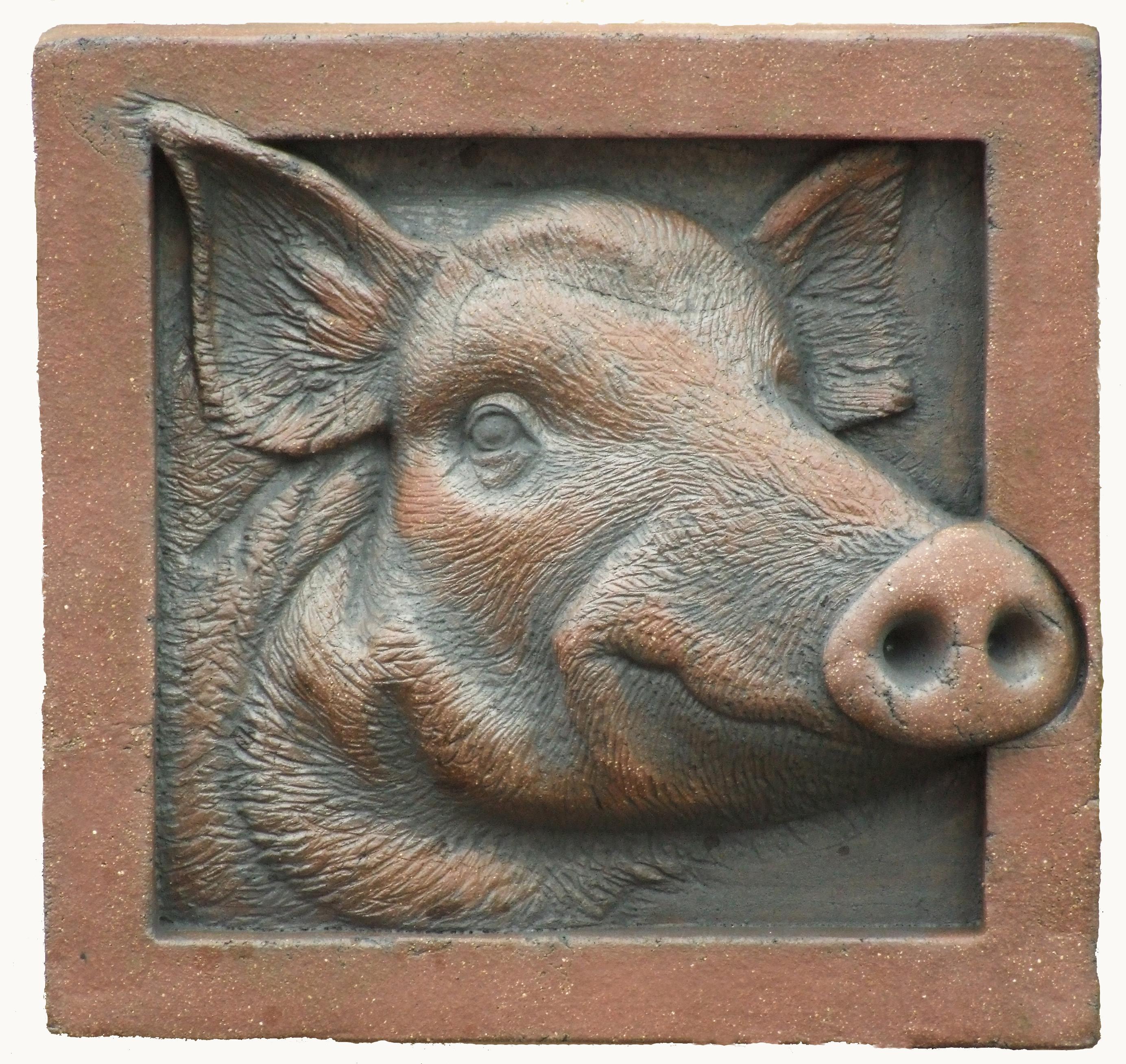 Wild Boar Terracotta.