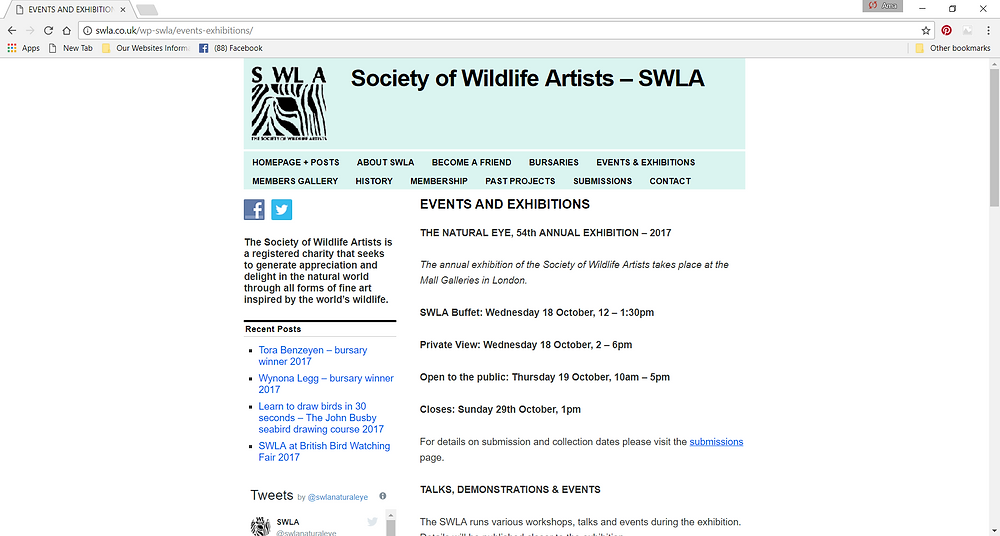 Society of Wildlife Artists Ama Menec Sculpture