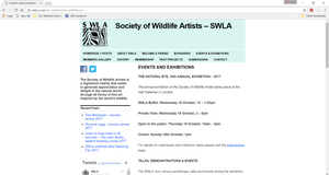 Society of Wildlife Artists Ama Menec Sculpture