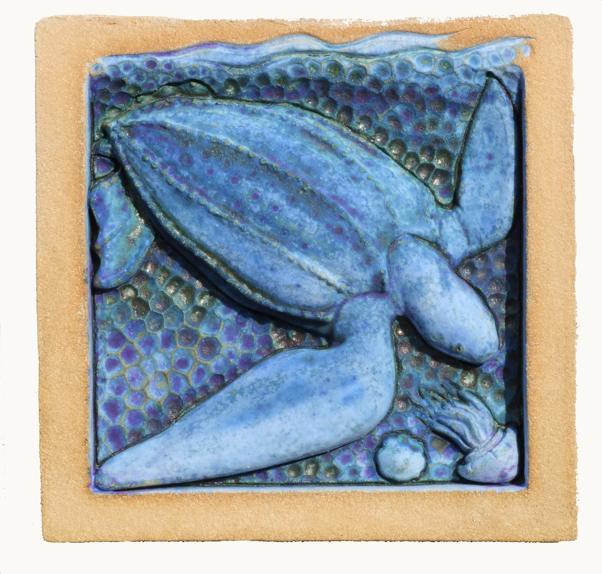 Leatherback Turtle Blue pg