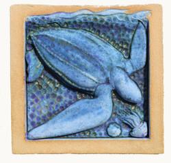 Leatherback Turtle Blue pg