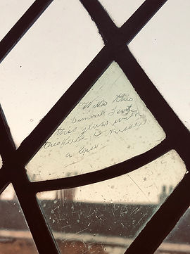 King's Manor window graffiti.jpg
