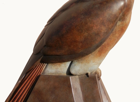 Hayloft Gallery showing my Female Red Kite at the Edinburgh Art Fair this weekend www.artedinburgh.c