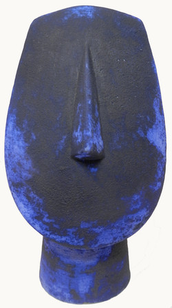 Dry Blue Tapered Cycladic Head jpg