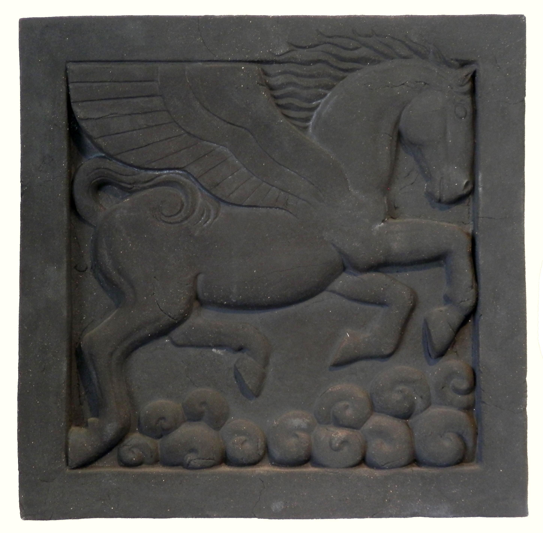 Last Black Clay Pegasus. jpg