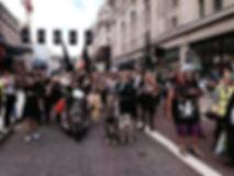 Great Badger Trail hits London lead by sculptor Ama Menec. .jpg