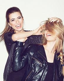 Fashion Models Having Fun