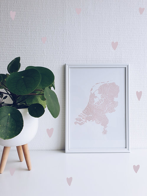 Meaningful Netherlands light pink