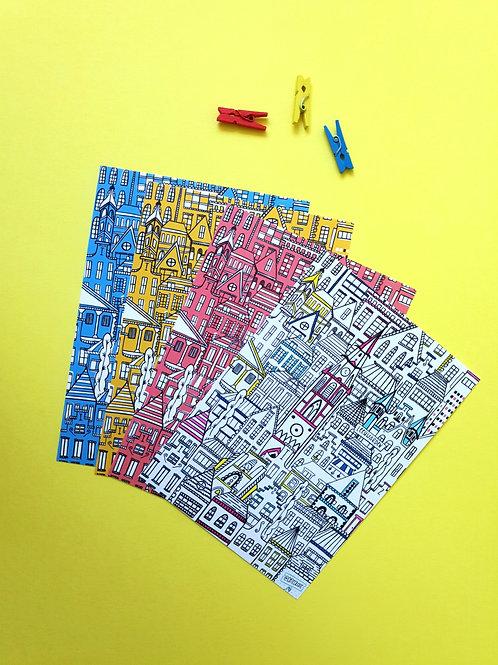 Postcards Leeuwarden color
