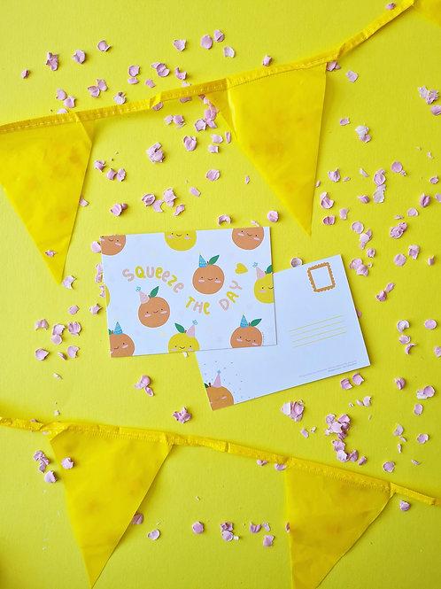 Postcard celebration/ Birthday