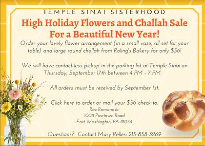 Sisterhood Challah Flower Sale.png