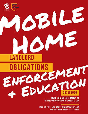 Mobile Home Enforcement & Education: Landlord Obligations | Obligaciones de lxs propietarixs