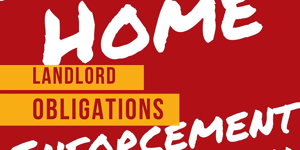 Mobile Home Enforcement & Education: Landlord Obligations | Obligaciones de lxs propietarixs