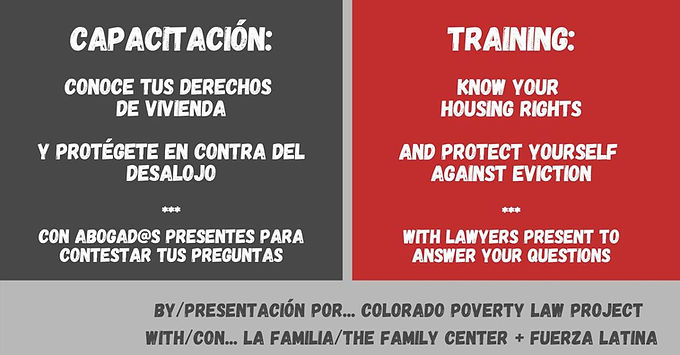 Know Your Rights/ Conozca sus derechos Dispute Resolution