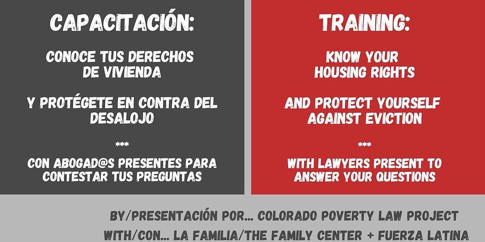 Know Your Rights/ Conozca sus derechos Dispute Resolution