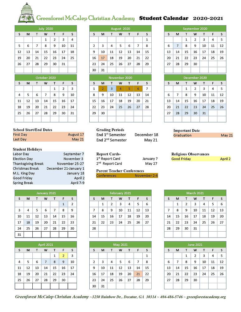 GMCA Calendar 2020-2021 Final 10-27-20.j