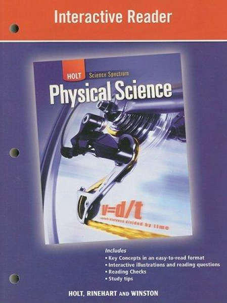 Physical Science Workbook