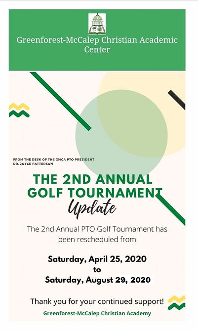 2nd Annual Golf Tournament Updated (New)