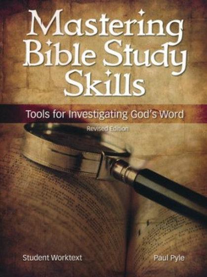 12th Grade Bible Mastering Bible Study Skills