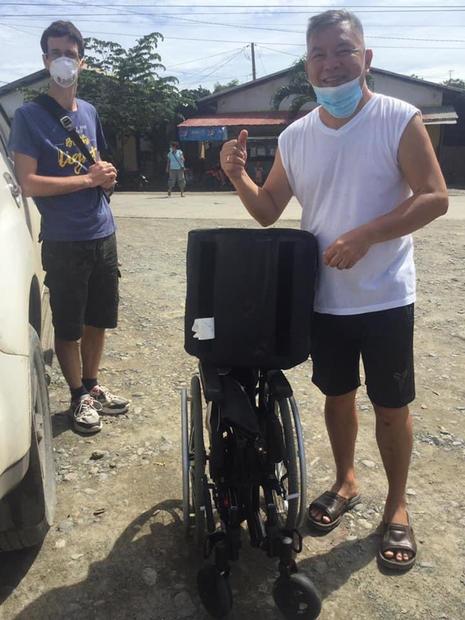 Philipino Recieving Wheelchair 2020 (2).