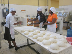 Bakery in action